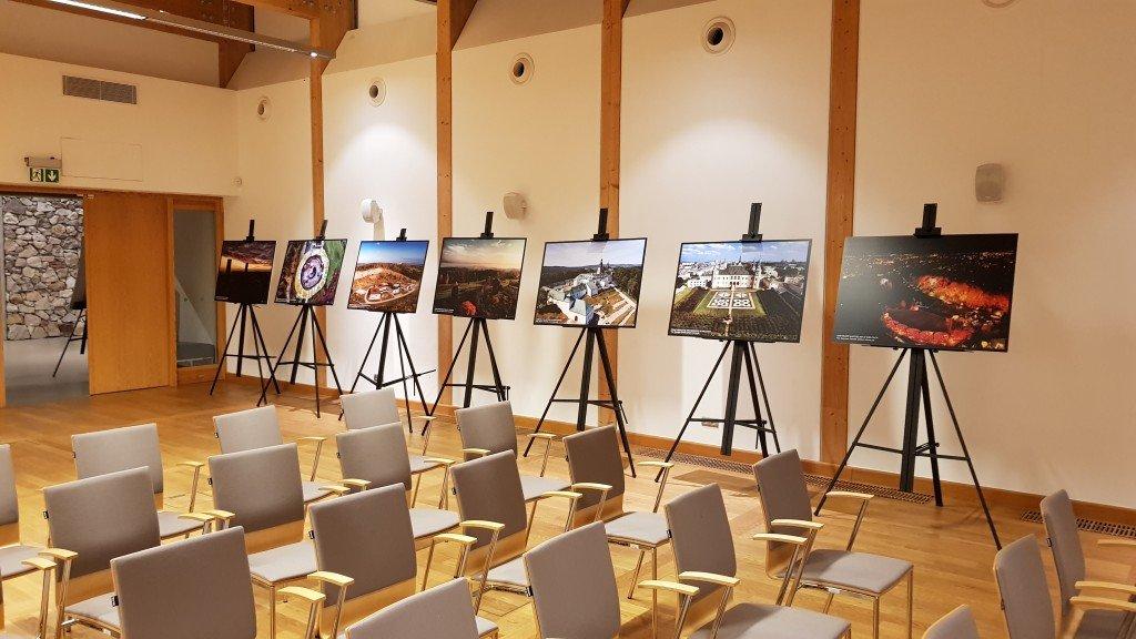 Wystawa geoland świętokrzyski Okiem-Drona