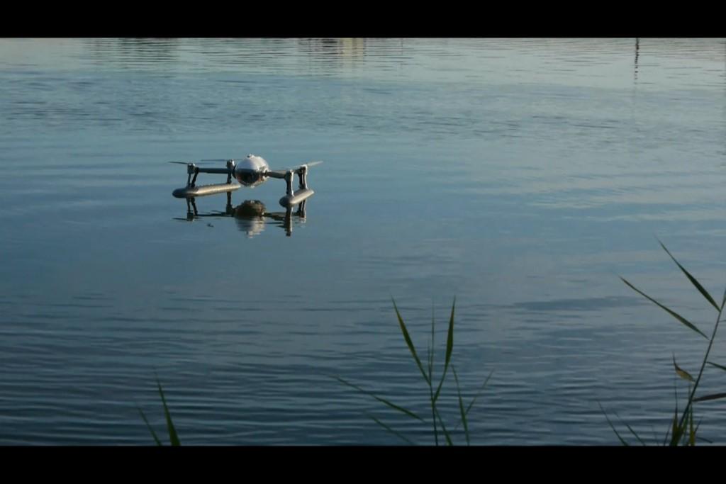 Wodoodporny dron