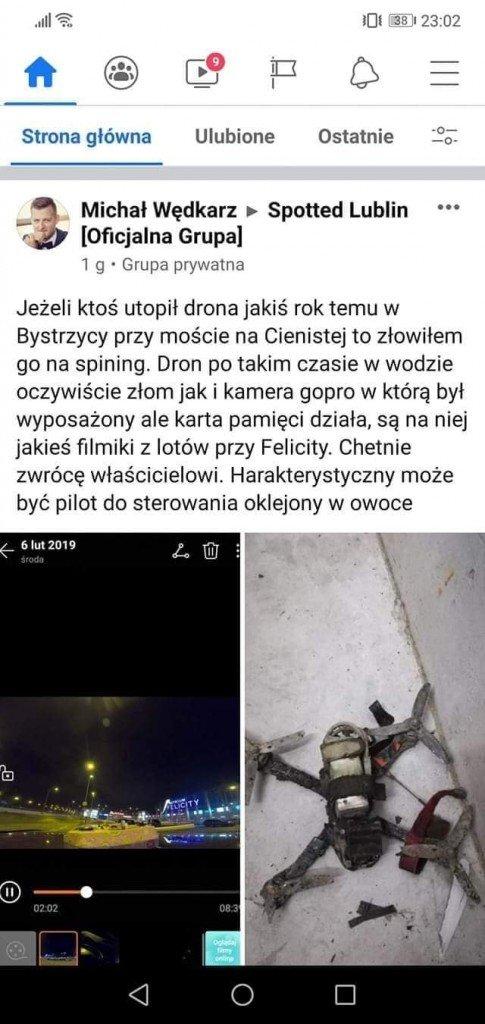 screenshot ogłoszenia facebook