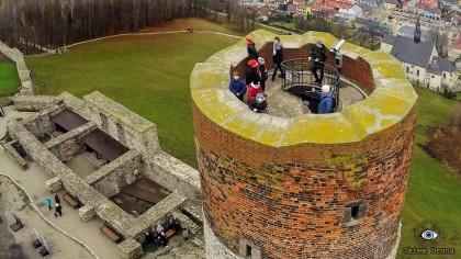 Turyści na wieży