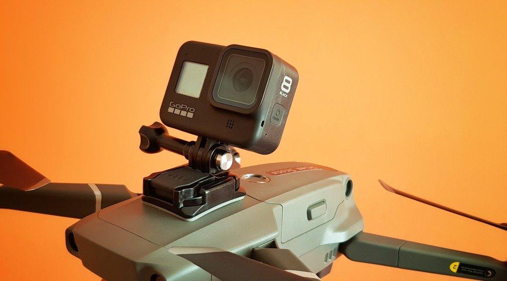gopro 8 test kamery drone mavic 2