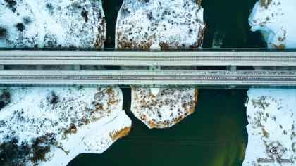 Wiadukt kolejowy nad Nidą
