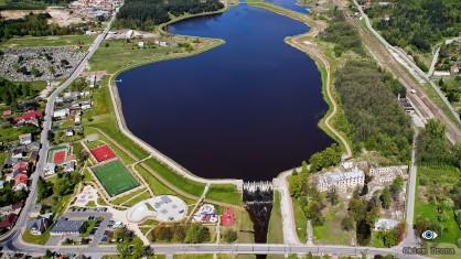 Wąchock Zalew na rzece  Lubrzanka